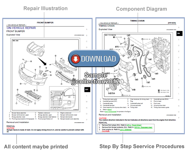 SUZUKI JIMNY 1998 - 2009 SN413 SN415D FACTORY OEM SERVICE REPAIR WORKSHOP MANUAL