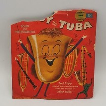 Clásico Goldentone Grueso by the Tuba Raro Yellow Record 17.8cm - $30.42