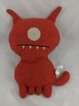 "Uglydoll Uglydog Dog Plush Orange 12"" 2004 Prettyugly Stuffed Animal - $18.07"