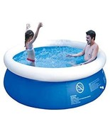 """GARDEN Inflatable Top Ring Swimming Pools Blue (71"""" x 29"""") - $77.00"""