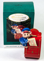 Hallmark Keepsake Ornament 1993 It's In The Mail Collector's Club Mouse - $5.00
