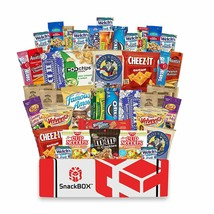 Care Package for College 40 Count Office Snacks & Gift Baskets Snack Box... - $43.06