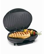 Proctor-Silex 25218 Black Compact Electric Grill by Hamilton Beach 500 W - $13.98