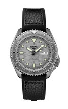New Seiko 5 Automatic Leather Strap Men's Watch SRPE79 - $217.98