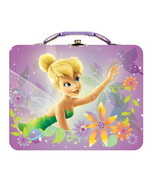 Walt Disney's Tinker Bell Large Carry All Tin Tote Lunchbox Style B NEW ... - $13.54