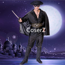 Chivalrous Robbers Swordsman Zorro Costume, Custom Zorro Cosplay Costume... - $159.00