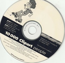 10,000 Clipart People Royalty Free Scalable Clip Art in WMF + Browser - $4.04