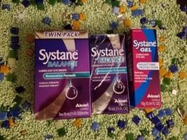 LOT OF Systane 4 X BALANCE+1 X NIGHTTIME EYE GEL SEALED BOTTLES - $27.00