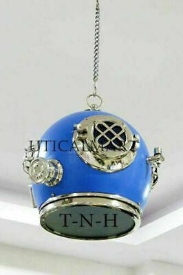 HANDMADE VINTAGE A.J Morse  Diving Divers Helmet Antique Hanging HEAVY Weight