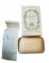Vintage Crabtree & Evelyn Almond oil w cold cream soap 3.5 Oz New - $43.56