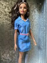 Barbie Fashionistas Doll 121 Prosthetic Leg Amputee Beautiful Rare Brunette - $12.00