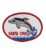 Santa Cruz California Patch - Dolphin (Iron on) - £3.77 GBP