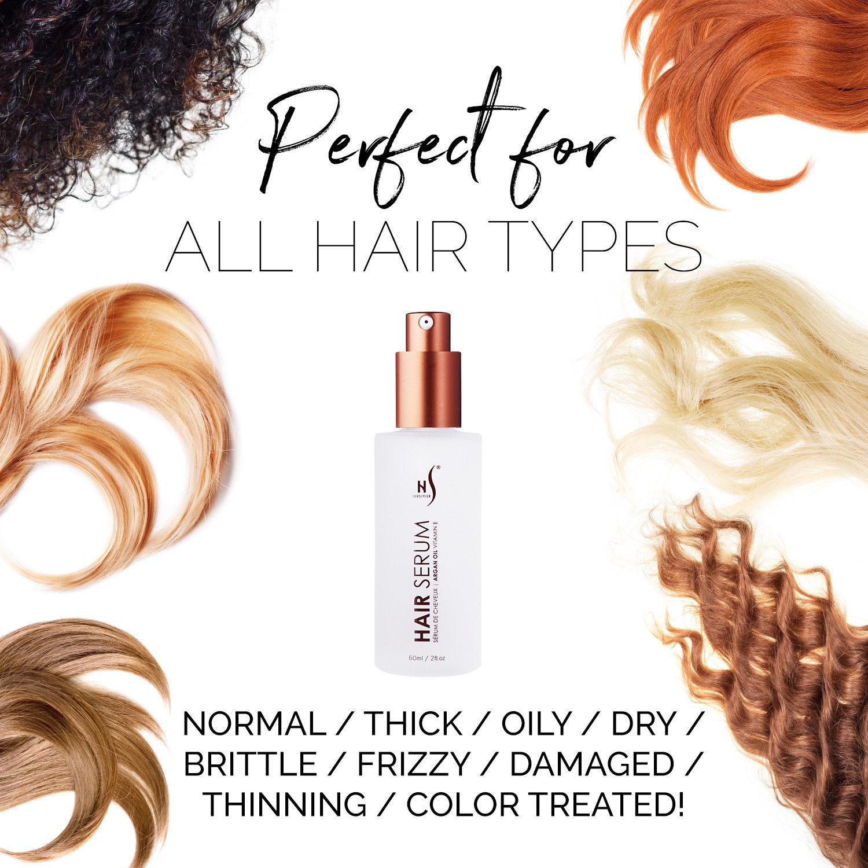 Herstyler Hair Serum with Argan Oil and Aloe Vera 2 fl oz / 60 ml