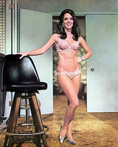 NATALIE WOOD POSTER 24x36 inches Rare Sexy Bra Pin-Up Bob Carol Ted Alice OOP