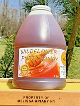 SALE! Buy Raw Honey! WILDFLOWER 5 lbs USA Grade -A-100%-NY-Mountain Flor... - $30.35