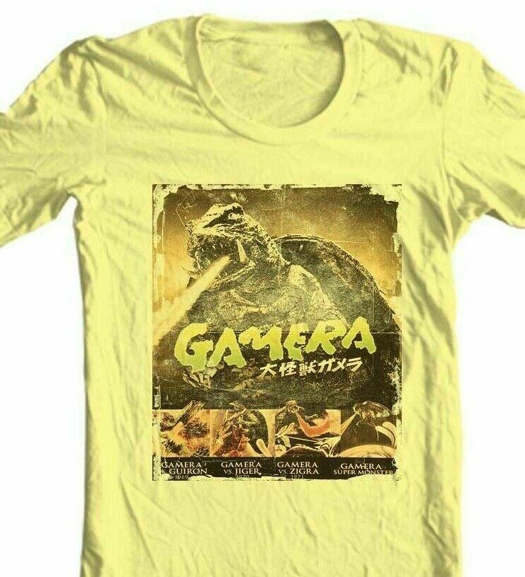 Gamera T-shirt retro sci fi Japanese monster movie Godzilla 1960s graphic tee