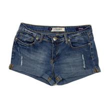 Vigold Women Size 9/10 (Meas 30x2) Denim Distressed Shorts Roll Hem - $15.84