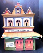 """DEPT 56 HERITAGE VILLAGE COLLECTION - DICKENS SERIES- """"THEATRE ROYAL"""" - $9.77"""