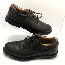 Timberland Waterproof Mens Shoes Sz 10.5 Leather Brown  Oxford  90081  E... - $23.04