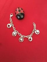 Tiffany & Co Sterling Silver 5 Charms Bracelet Sun Moon Heart Star Horseshoe - $320.00