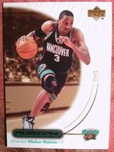 BASKETBALL 2000-01 UPPER DECK OVATION #57SHAREEF ABDUR-RAHIN VANCOUVER G... - $0.99