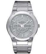 Bulova Men's 76A134 Harley Davidson Japanese-Quartz Grey Watch  - $199.99