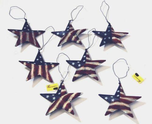 Hannas Handiwork 60649 America Star Set of 7 Color Red White Blue