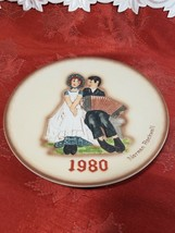 Collector PLATE Norman Rockwell Second Limited Ed 1980 Annual Plate Lovers