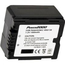 Battery For Panasonic VW-VBG130 VW-VBG130-K VW-VBG130PP VW-VBG130PPK VBG130PP9 - $35.96