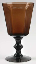 1960's Lenox (1) Handmade Antique-Brown Large Water Glass Goblet France ... - $15.99