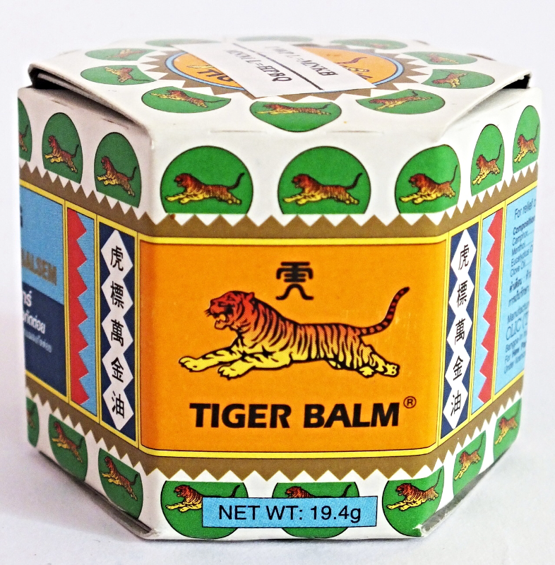 TIGER BALM WHITE Ointment Relief Muscular Aches Pains Flatulence 19.4 g EXP 2021