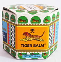 TIGER BALM WHITE Ointment Relief Muscular Aches Pains Flatulence 19.4 g ... - $6.99