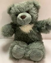 "Vintage Lemonwood Asia Plush Gray & White Bear Stuffed Animal Toy Teddy 13"" - $28.99"