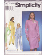 Simplicity 9068 Women Dress Casual Jacket Skirt Pants Size 14-20 Sewing ... - $12.00