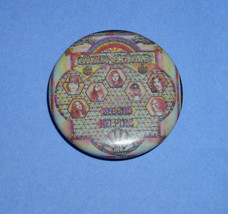 Lynyrd Skynyrd Second Helping Pinback Button Vintage 1983 Personalities - $12.99