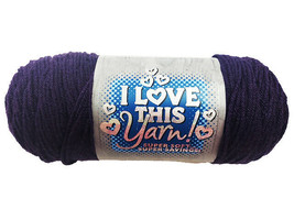 I Love This Yarn in Purple #521138