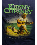 T-Shirt concert Kenny Chesney Brother of the sun tour 2012 medium - $39.95