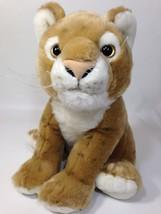 "The Petting Zoo Lion Plush Mountain Cat Baby Cub Brown Stuffed Animal 11"" - $29.95"