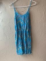 Mossimo floral jumper Size medium  Womens sleeveless tank Romper - $12.16