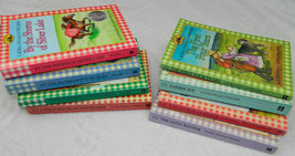 LITTLE HOUSE ON THE PRARIE Series 8 BOOKS Gingham Covers LAURA INGALLS W... - $29.69
