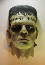 """Frankenstein Monster Head Bust Wall Mounted Sculpture 15.5"""" Tall - $38.95"""