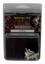 Warhammer Khador Manhunter Solo Miniature Models PIP 33016 SEALED NEW - $9.89