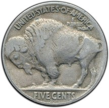 1927S Buffalo Nickel 5¢ Coin Lot# A 266 image 2