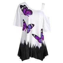 Butterfly Madness High-Low Shirt - $19.00