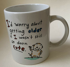 Vintage Hallmark Shoebox Greetings Coffee Mug Funny Humorous Getting Older - $16.82