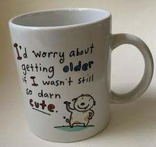 Vintage Hallmark Shoebox Greetings Coffee Mug Funny Humorous Getting Older - $16.82