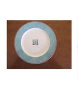 Royal Doulton everyday, Trailfinder Salad Plate(s) -Turquoise Rim - $14.99