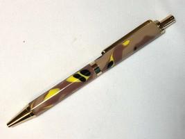 Slimline Pro click pen, fall camo acrylic, and gold hardware, Parker refill - $26.73
