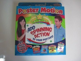 ArtSkills Poster Motion Add SPINNING ACTION To Your Posters w/ 21 ADD ON... - $4.90