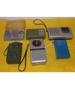 Transistor Radio - Six Different Pocket Radios - $120.00